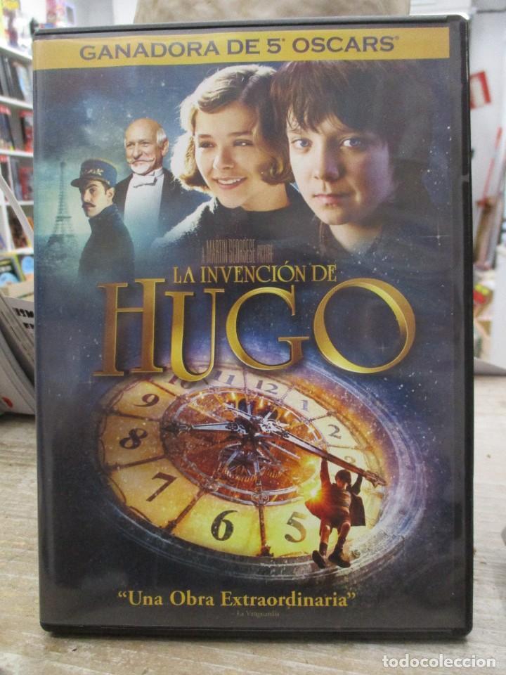 LA INVENCION DE HUGO - MARTIN SCORSESE - GANADORA 5 OSCARS - DVD (Cine - Películas - DVD)