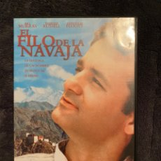 Cine: EL FILO DE LA NAVAJA DVD DESCATALOGADO. Lote 286184693