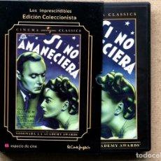 Cinema: SI NO AMANECIERA / OLIVIA DE HAVILLAND / LOS IMPRESCINDIBLES EDICIÓN COLECCIONISTA / M. LEISEN / DVD. Lote 286306128