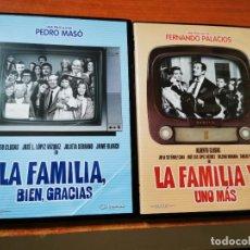 Cine: LA FAMILIA BIEN GRACIAS / LA FAMILIA Y UNO MAS 2 DVD 2008 ALBERTO CLOSAS JOSE LUIS LOPEZ VAZQUEZ. Lote 286412113