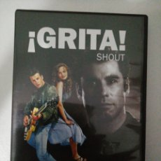Cine: ¡GRITA! SHOUT, JOHN TRAVOLTA, DVD, SEGUNDA MANO PERO EN PERFECTO ESTADO. Lote 286542633