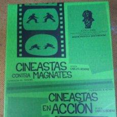 Cine: 2 CD`S CINEASTAS CONTRA MAGNATES Y CINEASTAS EN ACCIÓN SON DOS CD ESPECIAL MAS DE 200 MINUTOS EXPE. Lote 286698113
