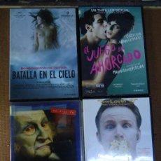 Cine: 4 CD`S EL JUEGO DEL AHORCADO- BATALLA EN EL CIELO- GOODBYE, AMERICA- SUPER SIZE ME CUATRO GRANDES PE. Lote 286701488
