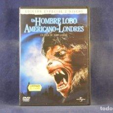 Cinema: UN HOMBRE LOBO AMERICANO EN LONDRES - DVD. Lote 286781833