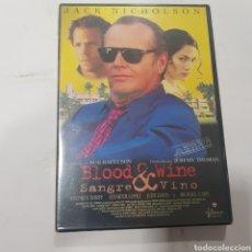 Cinema: REF 15579 BLOOD& WINE  -DVD NUEVO PRECINTADO. Lote 286785693