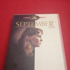 Cine: DVD SEPTEMBER - WOODY ALLEN - MIA FARROW. Lote 287264293
