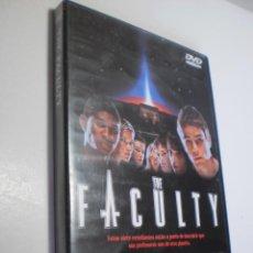 Cine: DVD THE FACULTY. 100 MINUTOS CON DÍPTICO (BUEN ESTADO, SEMINUEVO). Lote 287389878