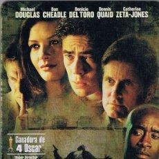 Cinema: TRAFFIC ( ESTUCHE METÁLICO). Lote 287572623