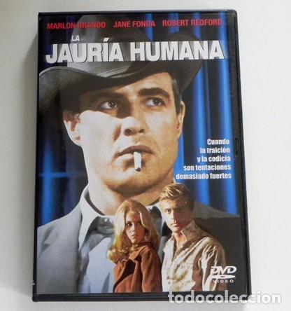 LA JAURÍA HUMANA DVD PELÍCULA DRAMA MARLON BRANDO ROBERT REDFORD JANE FONDA ROBERT DUVALL PENN BARRY (Cine - Películas - DVD)