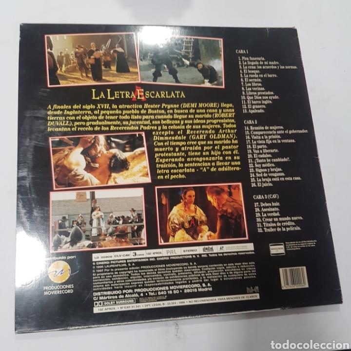 Cine: LSD 71 la letra escarlata -LASER DISC SEGUNDA MANO - Foto 2 - 287674473