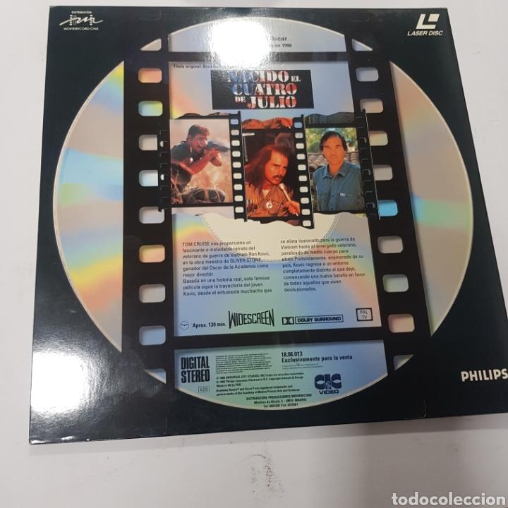 Cine: LSD 73 nacido el 4 de julio  -LASER DISC SEGUNDA MANO - Foto 2 - 287675098