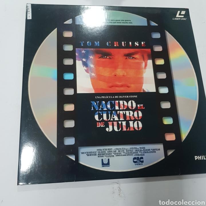 LSD 73 NACIDO EL 4 DE JULIO  -LASER DISC SEGUNDA MANO (Cine - Películas - DVD)