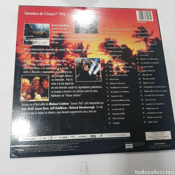 Cine: LSD 75 Jurassic Park  -LASER DISC SEGUNDA MANO - Foto 2 - 287675388