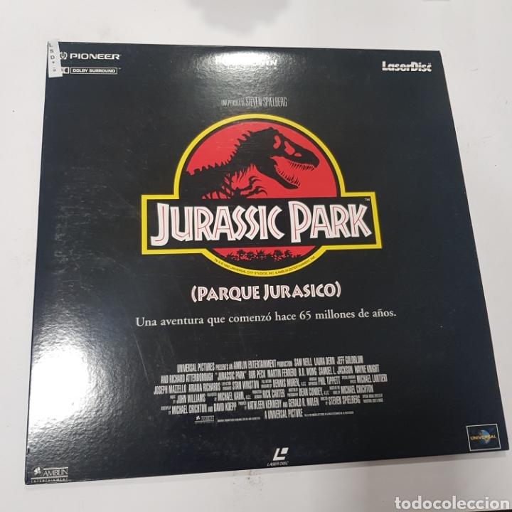 LSD 75 JURASSIC PARK  -LASER DISC SEGUNDA MANO (Cine - Películas - DVD)