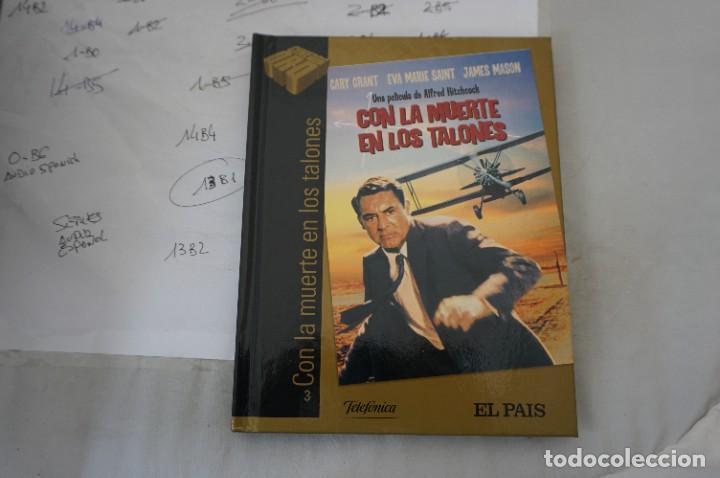 DVD + LIBRETO - CON LA MUERTE EN LOS TALONES - CARY GRANT (Cine - Películas - DVD)