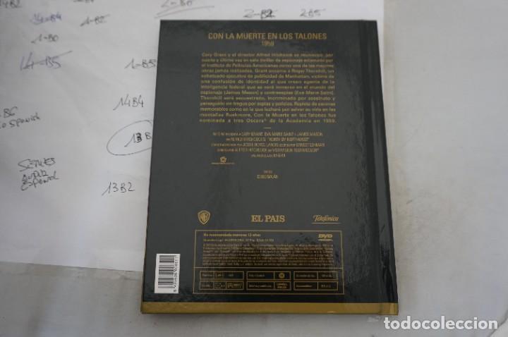 Cine: DVD + LIBRETO - CON LA MUERTE EN LOS TALONES - CARY GRANT - Foto 3 - 287676448