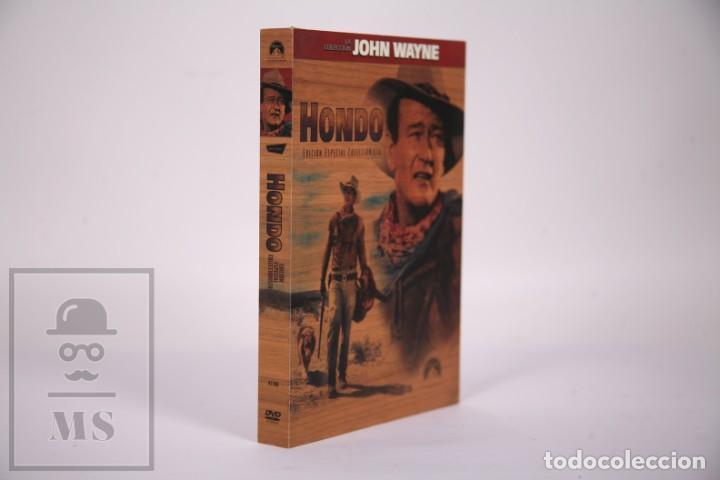 Cine: Película en DVD - Hondo John Wayne - Caja Especial Coleccionista - Facsimiles Carteles - Foto 2 - 287676468