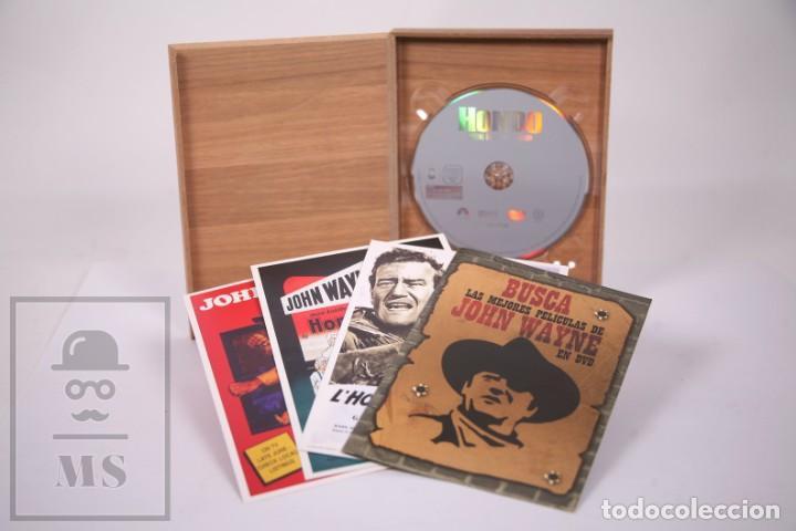 Cine: Película en DVD - Hondo John Wayne - Caja Especial Coleccionista - Facsimiles Carteles - Foto 3 - 287676468