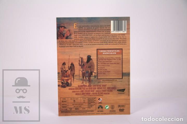 Cine: Película en DVD - Hondo John Wayne - Caja Especial Coleccionista - Facsimiles Carteles - Foto 4 - 287676468