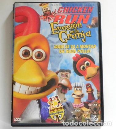 EVASIÓN EN LA GRANJA DVD PELÍCULA COMEDIA DIBUJOS ANIMADOS FUGA GALLINAS -VOZ DE GOMAESPUMA - EXTRAS (Cine - Películas - DVD)
