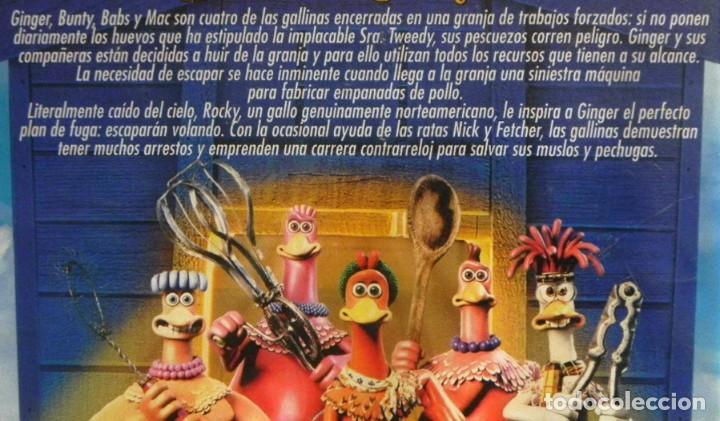 Cine: EVASIÓN EN LA GRANJA DVD PELÍCULA COMEDIA DIBUJOS ANIMADOS FUGA GALLINAS -VOZ DE GOMAESPUMA - EXTRAS - Foto 2 - 287676508