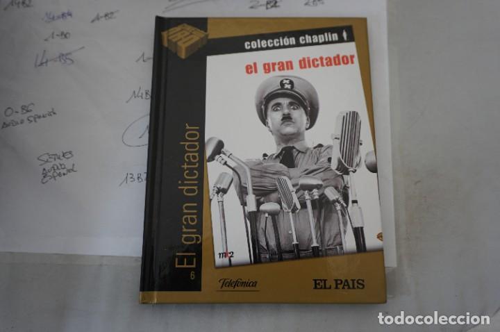 DVD + LIBRETO - EL GRAN DICTADOR - CHARLES CHAPLIN (Cine - Películas - DVD)