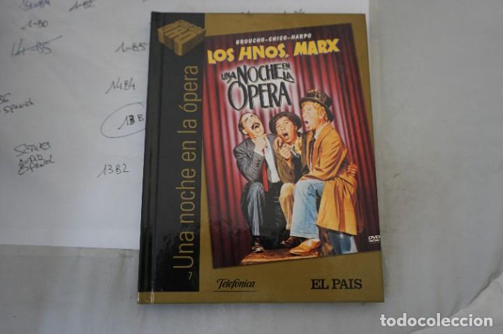 DVD + LIBRETO - UNA NOCHE EN LA OPERA - LOS HERMANOS MARX (Cine - Películas - DVD)