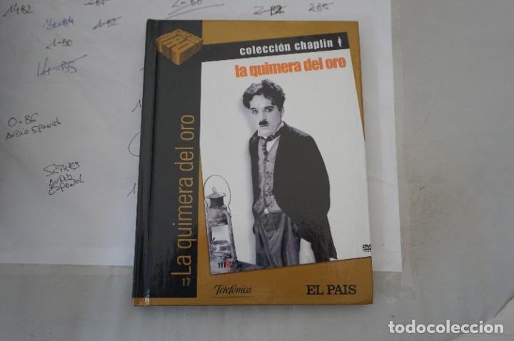 DVD + LIBRETO - LA QUIMERA DEL ORO - CHARLES CHAPLIN (Cine - Películas - DVD)