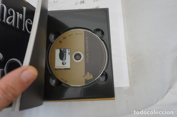 Cine: DVD + LIBRETO - LA QUIMERA DEL ORO - CHARLES CHAPLIN - Foto 2 - 287676728