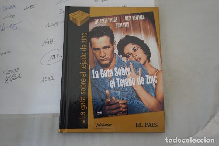 DVD + LIBRETO - LA GATA SOBRE EL TEJADO DE ZINC - PAUL NEWMAN (Cine - Películas - DVD)