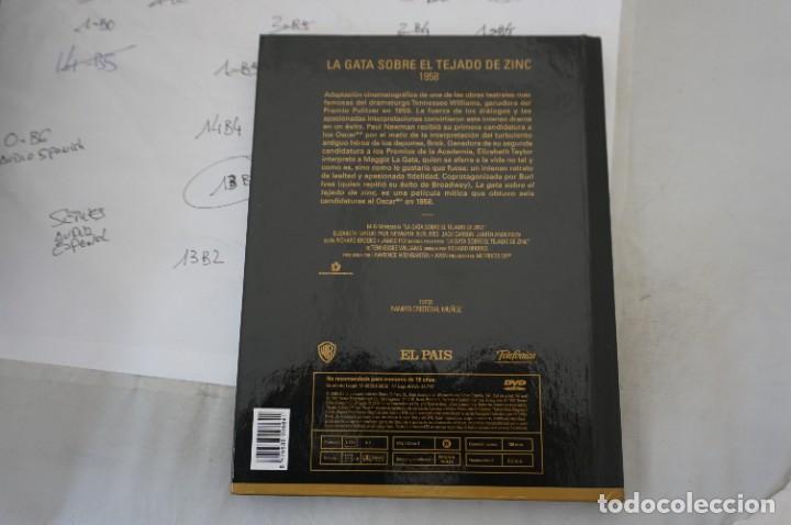 Cine: DVD + LIBRETO - LA GATA SOBRE EL TEJADO DE ZINC - PAUL NEWMAN - Foto 3 - 287676843