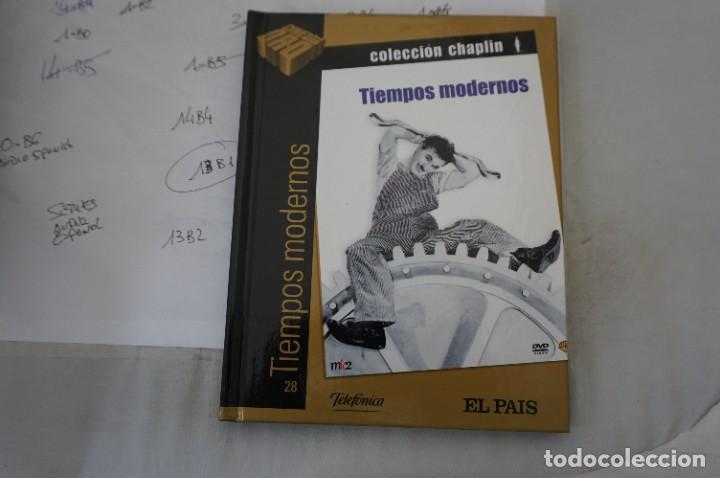 DVD + LIBRETO - TIEMPOS MODERNOS - CHARLES CHAPLIN (Cine - Películas - DVD)