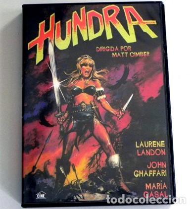 HUNDRA - DVD PELÍCULA GUERRERA LANDON MARÍA CASAL OLIVEROS ANDALUCÍA - ANDROFOBIA HEMBRISMO SEXISMO (Cine - Películas - DVD)