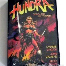 Cine: HUNDRA - DVD PELÍCULA GUERRERA LANDON MARÍA CASAL OLIVEROS ANDALUCÍA - ANDROFOBIA HEMBRISMO SEXISMO. Lote 287747283