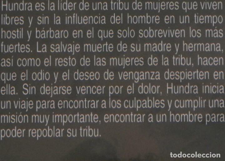 Cine: HUNDRA - DVD PELÍCULA GUERRERA LANDON MARÍA CASAL OLIVEROS ANDALUCÍA - ANDROFOBIA HEMBRISMO SEXISMO - Foto 2 - 287747283