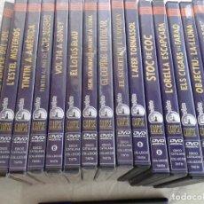 Cine: TINTIN, 16 DVD, EN CATALAN, 9 PRECINTADOS, B7. Lote 287834398