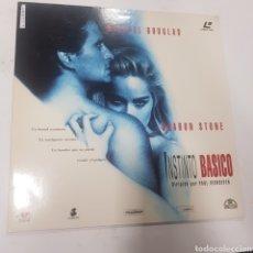 Cinema: LSD 173 INSTINTO BÁSICO  -LASER DISC SEGUNDA MANO. Lote 287841823