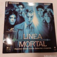 Cinema: LSD177 LÍNEA MORTAL  -LASER DISC SEGUNDA MANO. Lote 287843638