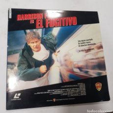 Cinema: LSD 193 EL FUGITIVO  -LASER DISC SEGUNDA MANO. Lote 287848273