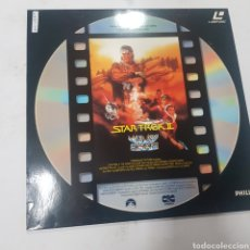Cine: LSD 220 STAR TREK 2  -LASER DISC SEGUNDA MANO. Lote 287855048