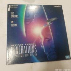Cine: LSD 222 STAR TREK GENERATIONS LA PRÓXIMA GENERACIÓN  -LASER DISC SEGUNDA MANO. Lote 287855603