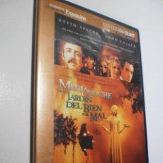 Cine: DVD MEDIANOCHE EN EL JARDÍN DEL BIEN Y DEL MAL KEVIN SPACEY. JOHN CUSACK 149 M CAJA FINA BUEN ESTADO. Lote 287896678