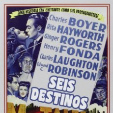 Cine: SEIS DESTINOS [DVD]. Lote 287896773