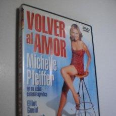 Cine: DVD VOLVER AL AMOR. MICHELLE PFEIFFER. 96 MIN (BUEN ESTADO). Lote 287898103