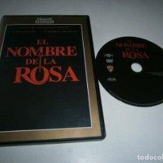 Cine: EL NOMBRE DE LA ROSA DVD SEAN CONNERY. Lote 288084993