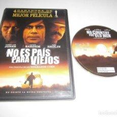 Cine: NO ES PAIS PARA VIEJOS DVD TOMMY LEE JONES JAVIER BARDEM JOSH BROLIN. Lote 288085243