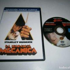 Cine: LA NARANJA MECANICA DVD RESTAURADA Y REMASTERIZADA DIGITALMENTE STANLEY KUBRICK. Lote 288085543