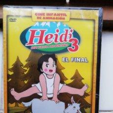 Cine: HEIDI, HEIDI VUELVE A LAS MONTAÑAS, DVD, NUEVO Y PRECINTADO. Lote 288087703