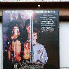 Cine: EL CORAZÓN DEL GUERRERO, DVD, SEGUNDA MANO PERO EN PERFECTO ESTADO. Lote 288089098