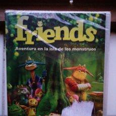Cine: FRIENDS, AVENTURA EN LA ISLA DE LOS MONSTRUOS, DVD, NUEVO Y PRECINTADO. Lote 288091323